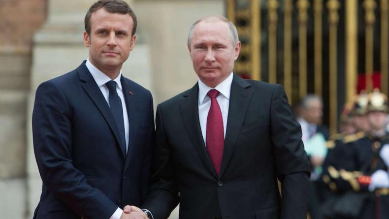 Syrian crisis: Policy Shift in Macron's France