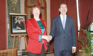 Catherine-Ashton-Saad-Eddine-El-Othmani