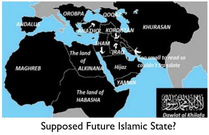 Isis MAP Shows Alarming Plans To Take Over North Africa The - Isis Training Camps In Us Map
