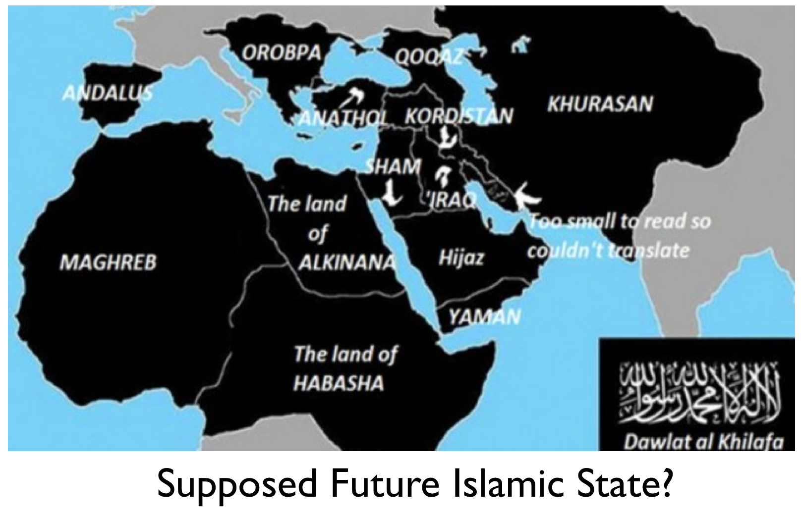 North Africa World Map.Isis Map Shows Alarming Plans To Take Over North Africa The North