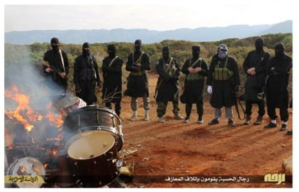 Libya ISIS begins new offensive on Derna