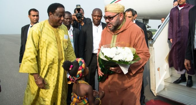 King Mohammed VI Starts New African Tour with Visit to Accra