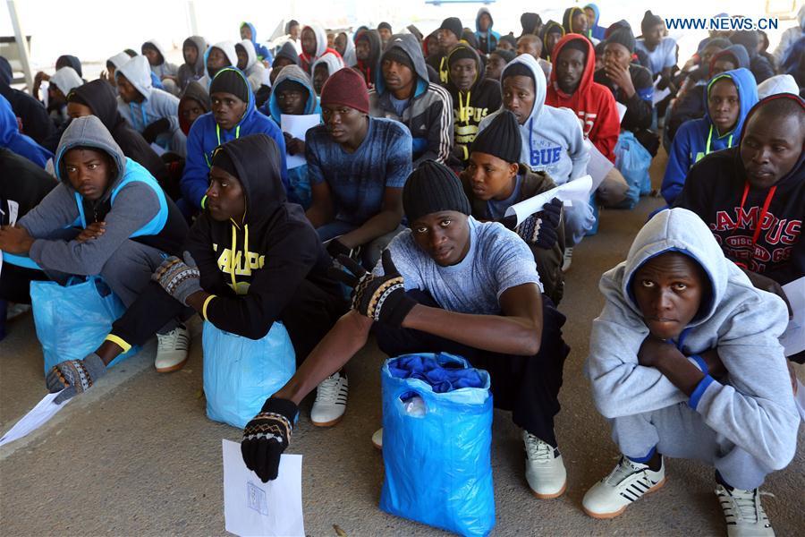 Tripoli Sends 170 Senegalese Migrants Back Home