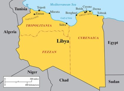 Trumps Aide Advocates Partitioning Libya The North Africa Post