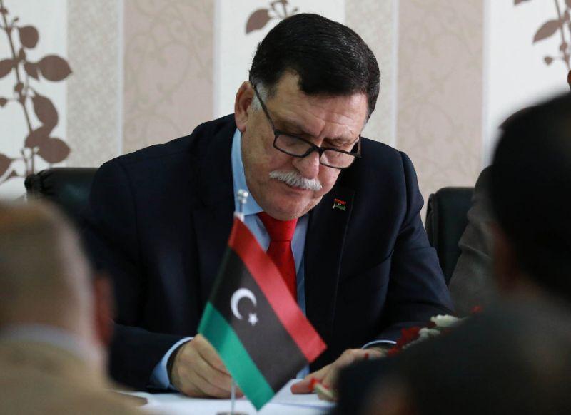 Libya's Serraj to Visit Washington