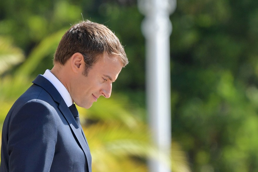 Will Emmanuel Macron Meet Ailing President during Wednesday Stopover in Algiers?