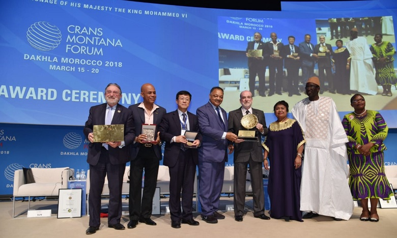 Crans Montana Forum Distinguishes Speaker of ECOWAS Parliament in Dakhla