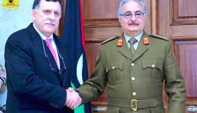 Libyan Army Factions Discuss Unification in Cairo
