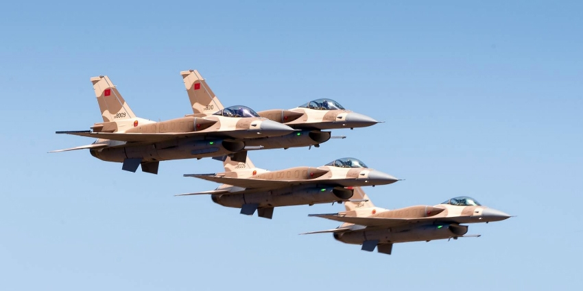 Morocco to repatriate F16 Jets from Saudi-led Campaign in Yemen over Tensions in Sahara