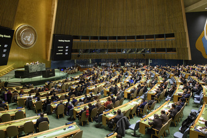 UN General Assembly Reaffirms Support to Political Process to Settle Sahara Issue