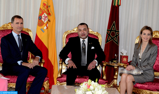 King of Spain & Spouse on official visit to Morocco this week