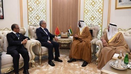 Morocco-UAE Defense Cooperation Reviewed at Meeting in Abu Dhabi