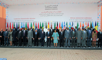 Marrakech: Ministers from Some 40 African Countries Meet to
