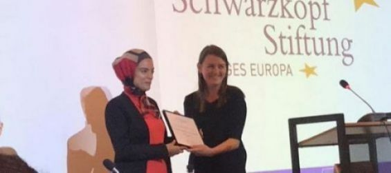 Yasmine Ouirhrane Receives 2019 Young European of the Year Award
