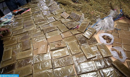 Moroccan police foils drug trafficking operation in Nador
