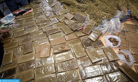 Morocco Foils Smuggling of about 6 Tons of Cannabis at Guergarate; 2.2 tons at Tanger-Med